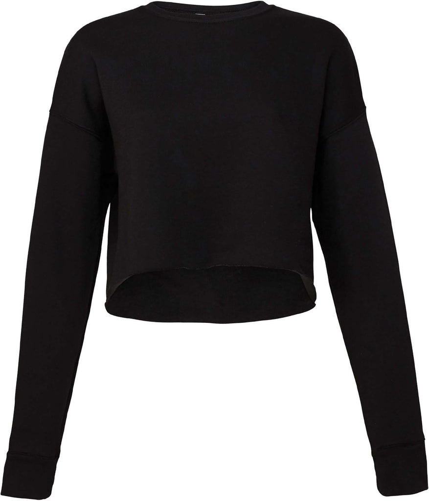 Women's Cropped Crew Fleece - Shirts4All NL