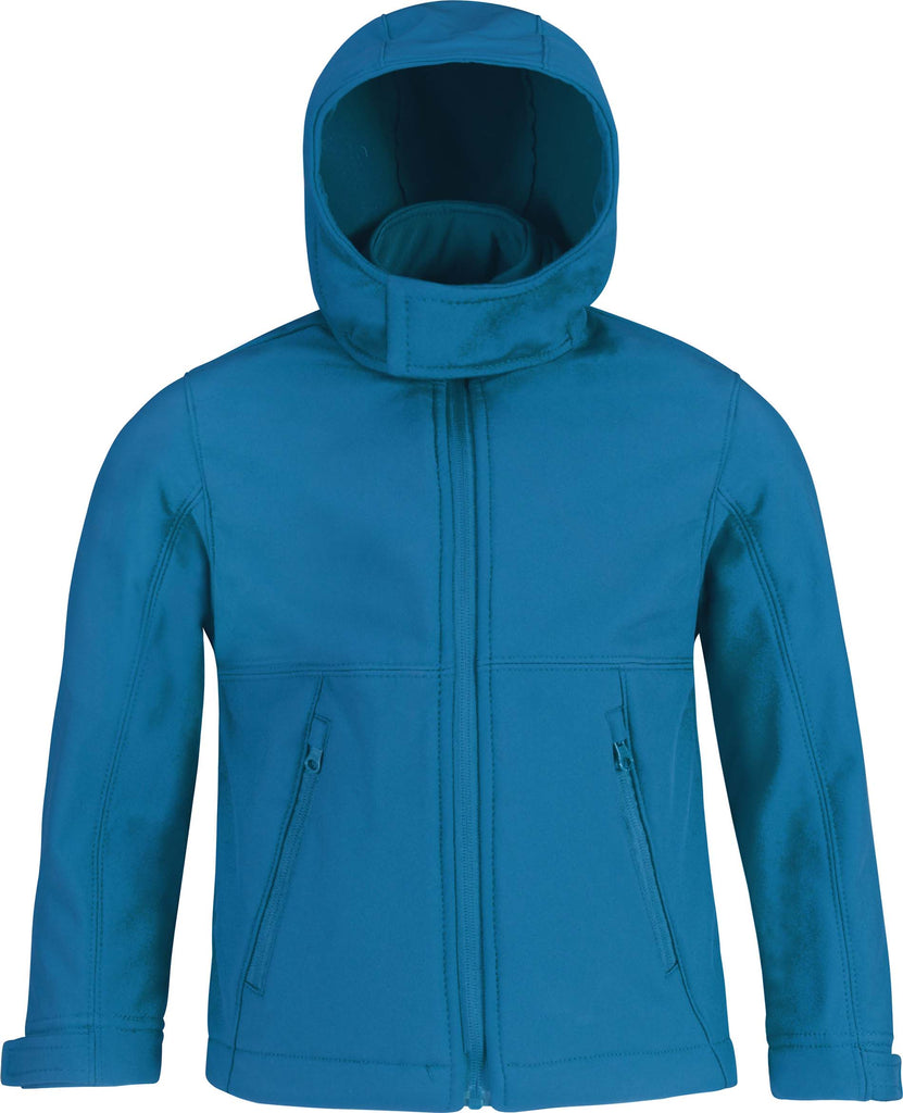 Kids' hooded softshell jacket - Shirts4All NL