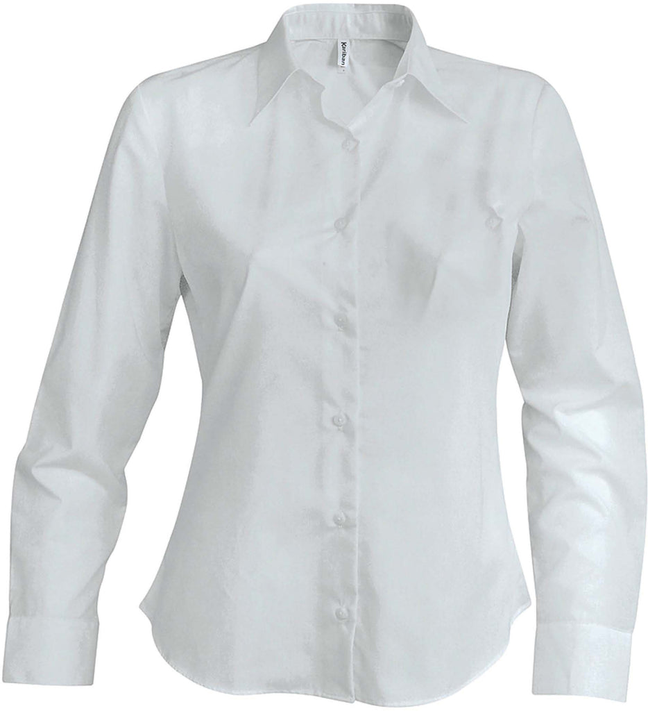 Dames non-iron blouse lange mouwen - Shirts4All NL