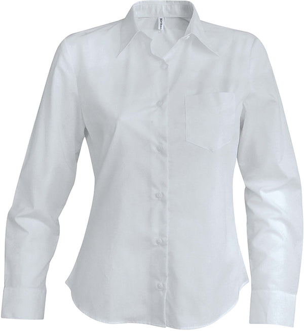 Jessica - Damesblouse lange mouwen - Shirts4All NL