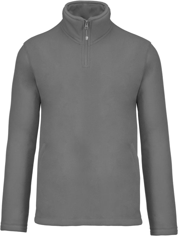 Kariban Enzo - Fleece met ritskraag - Shirts4All NL