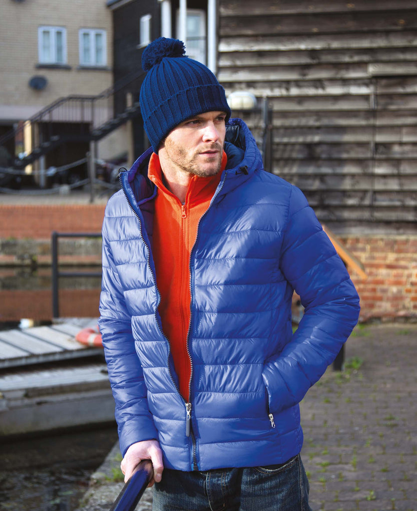 Mens Snow Bird Hooded Jacket - Shirts4All NL