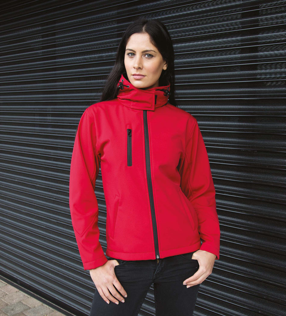 Core Ladies Tx Performance Hooded Soft Shell Jacket - Shirts4All NL