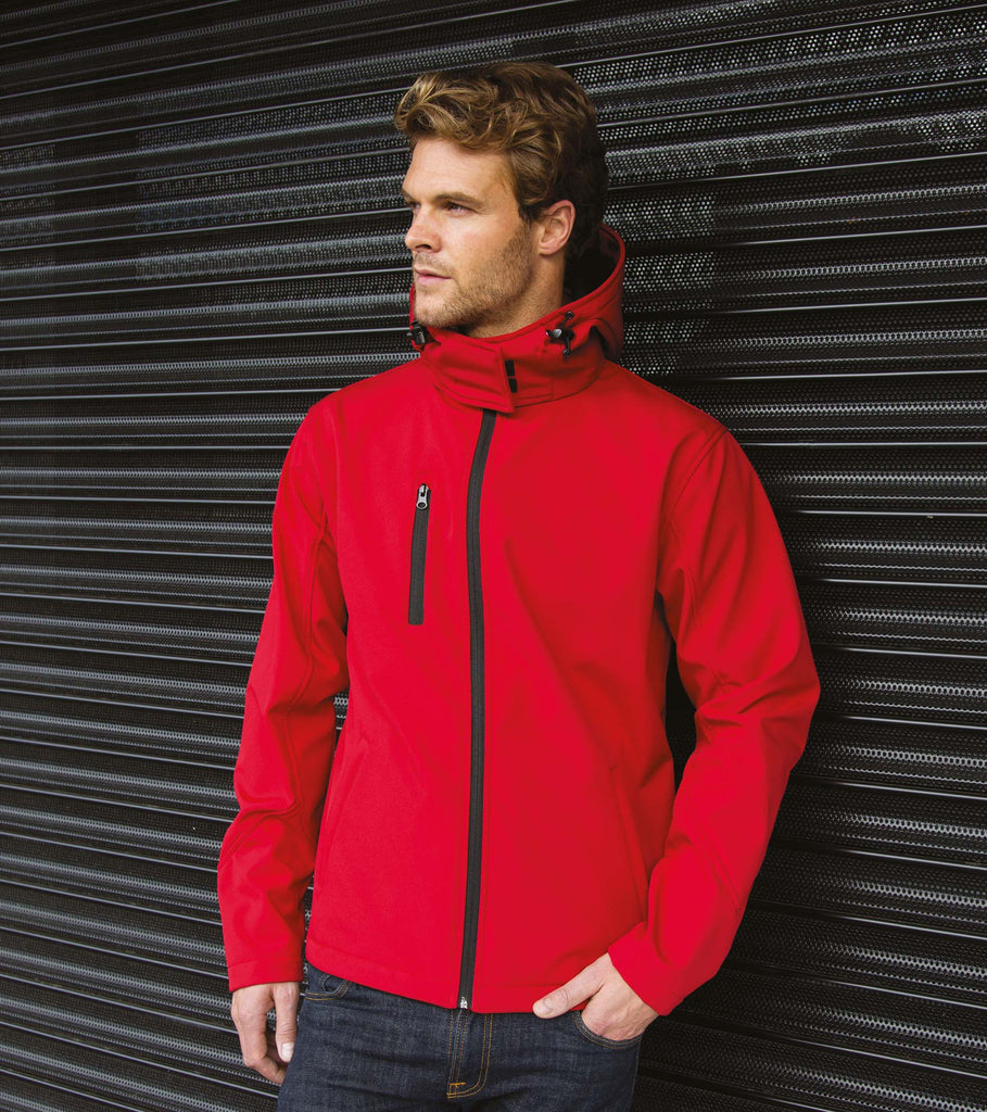Core Tx Performance Hooded Soft Shell Jacket - Shirts4All NL