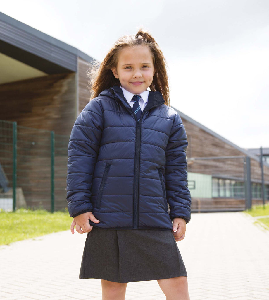 Junior/youth padded jacket - Shirts4All NL