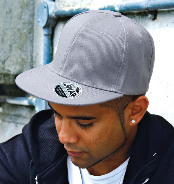 Bronx Original Flat Peak Snapback Cap - Shirts4All NL