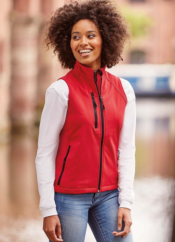 Ladies' Softshell Gilet - Shirts4All NL