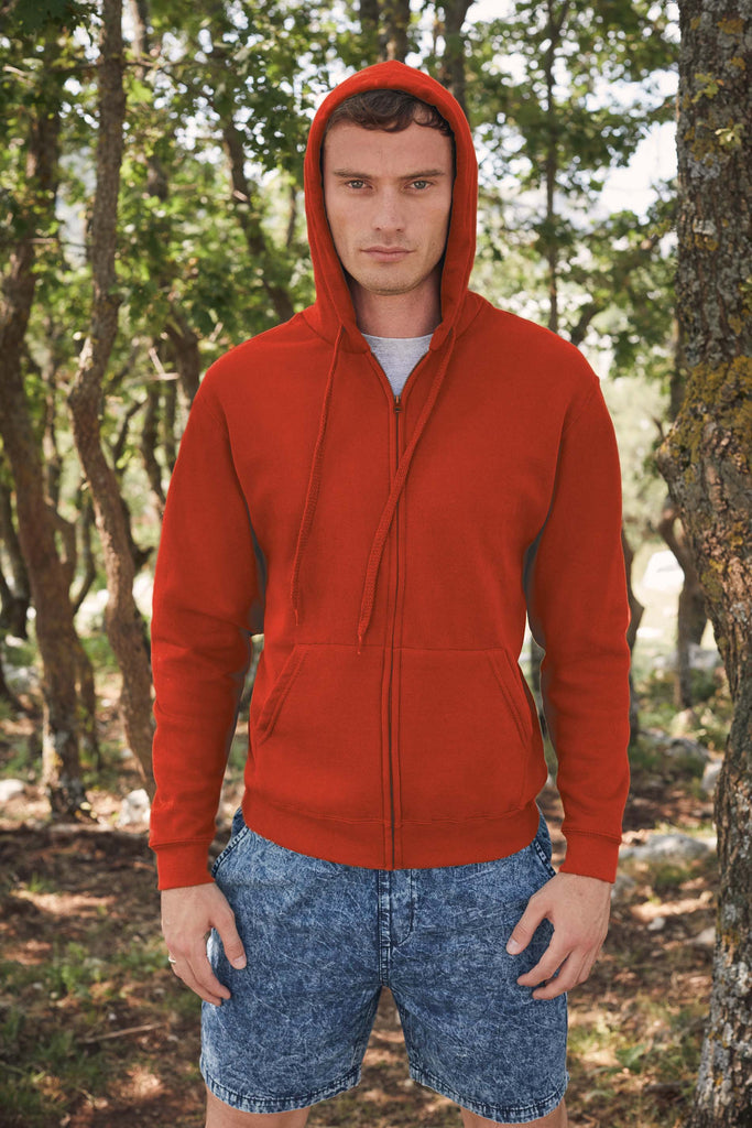 Classic Hooded Sweat Jacket (62-062-0) - Shirts4All NL