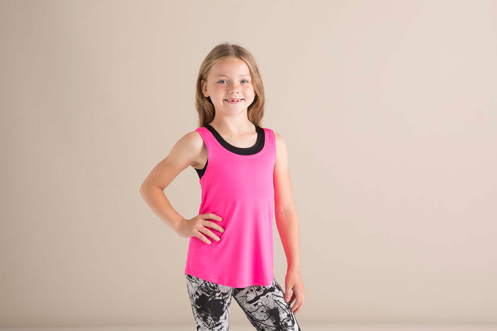 Kids' fashion workout vest - Shirts4All NL