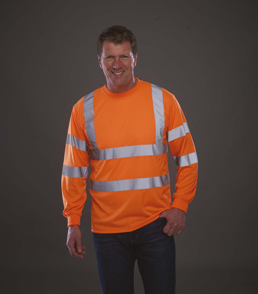 Hi-Vis long-sleeved T-shirt - Shirts4All NL