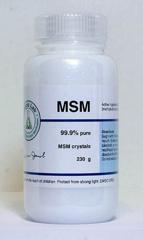 MSM, Powder or Gel