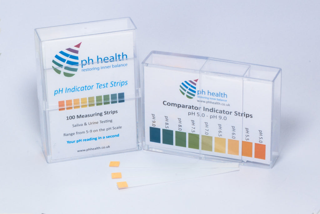Ph Test Strips 100 Per Pack Phhealth Restoring Inner