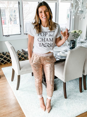 Pop The Champagne T-Shirt