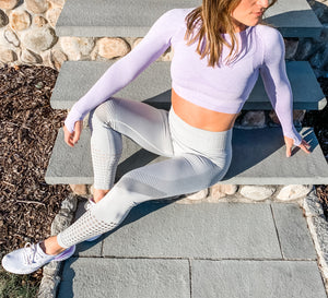 High-Waisted Seamless Leggings - 4 color options