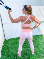 Smoke Show Quilted Sports Bra Set OR Separates