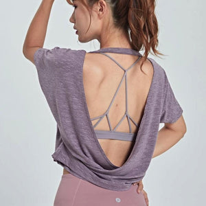 Backless Relaxed Fit Top