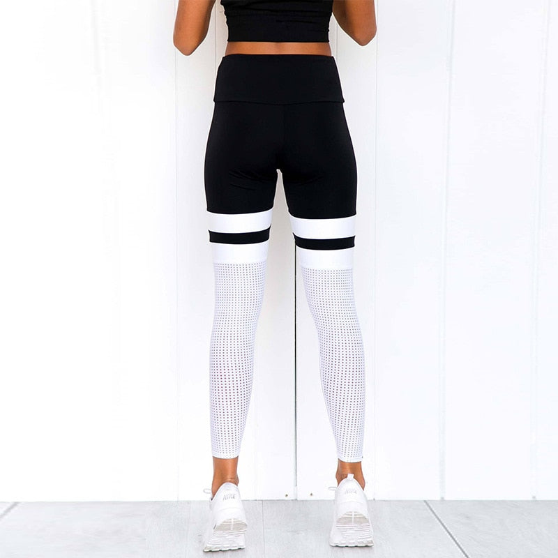Black & White Knockout Leggings