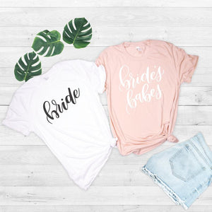Bachelorette Party Bride & Brides Babes T-Shirts