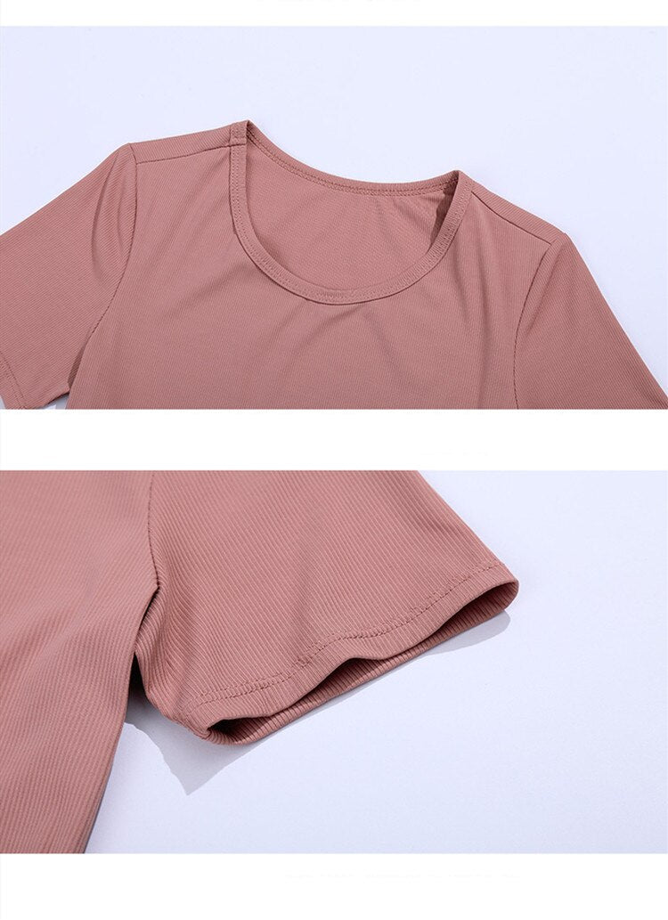 Cross Front Crop Top - 5 color options