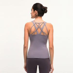 The Must Have Tank With Built-In Bra - 4 color options