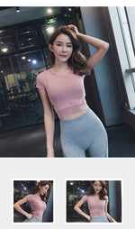 Short Sleeve Crop Top With Side Cut-Outs - 3 color options