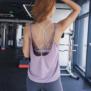 Loose-Fitted Backless Tank - 3 color options