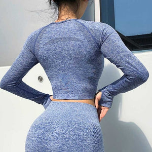 Unstoppable Seamless Long Sleeve Set OR Separates - 5 color options