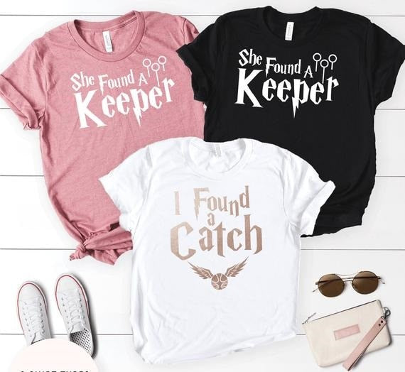 Quidditch Bachelorette Party T-Shirts