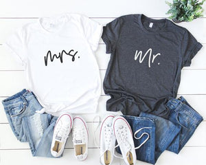 Mr. & Mrs. T-Shirts