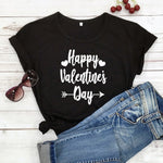 Happy Valentine's Day Arrow T-Shirt