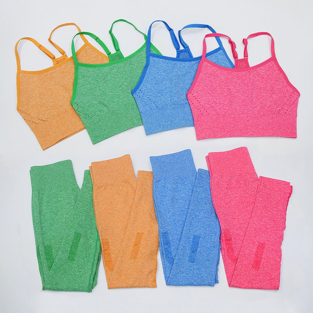 She's A Cutie Seamless Set OR Separates - 4 color options