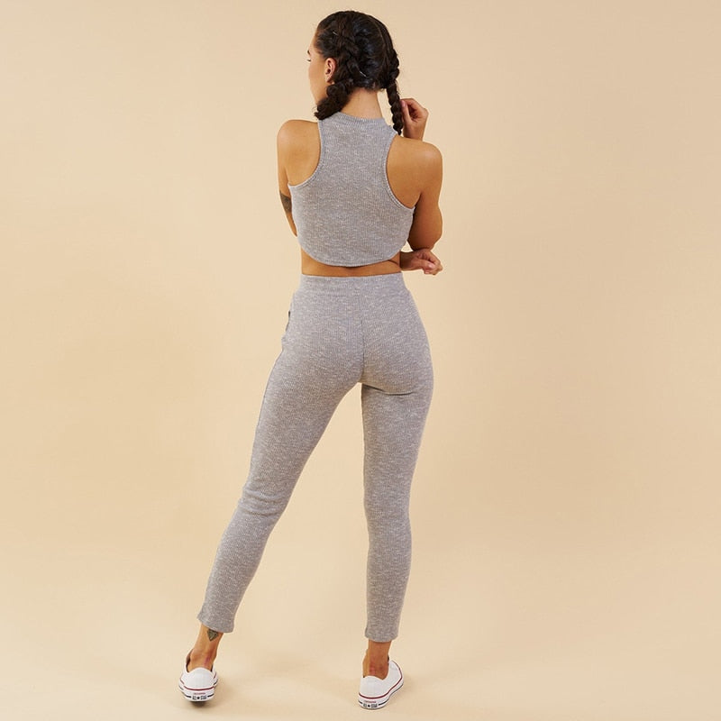 Powerhouse Knit Ribbed Set - 3 color options
