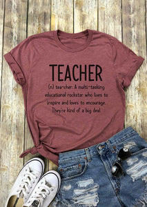 Teacher Definition T-Shirt