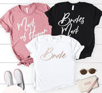 Bachelorette Party - Bride, Maid Of Honor, Bridesmaid T-Shirts
