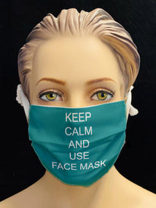 Keep Calm and use Face Mask