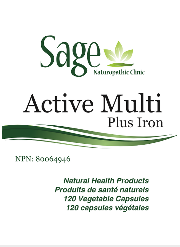 Sage's Active Multi plus IRON
