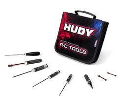 SET OF TOOLS + CARRYING BAG - FOR ELECTRIC TOURING CARS HUDY
