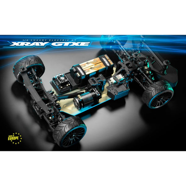 XRAY GTXE.3 - 1/8 LUXURY ELECTRIC ON-ROAD GT CAR