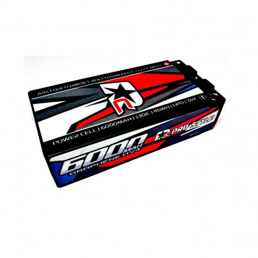 BATERIA LIPO SHORTY 6000Mah Shorty 2s 7.6v HV