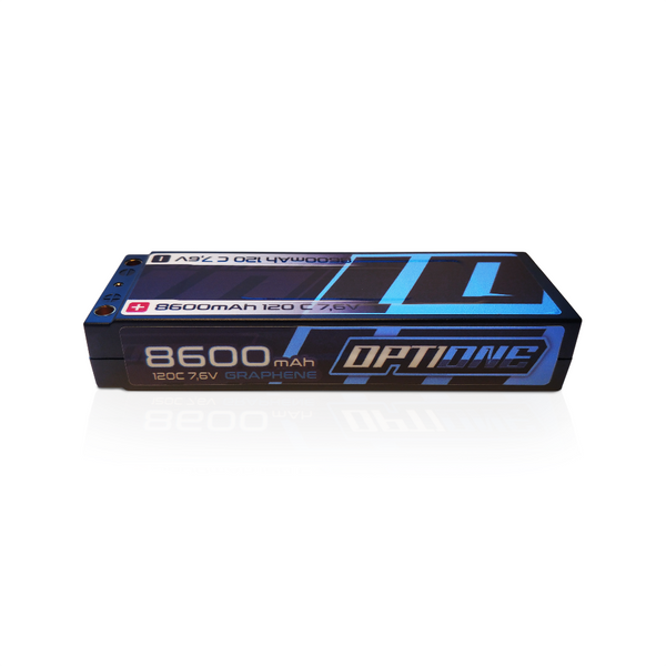 BATERÍA OPTIONE 2S 8600mAh 120C 7,6V GRAFENE