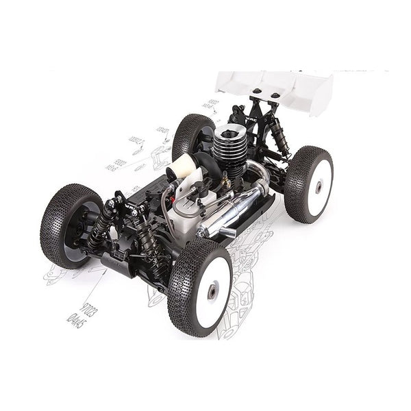 WRC RACING SBX1 BUGGY 1/8 NITRO