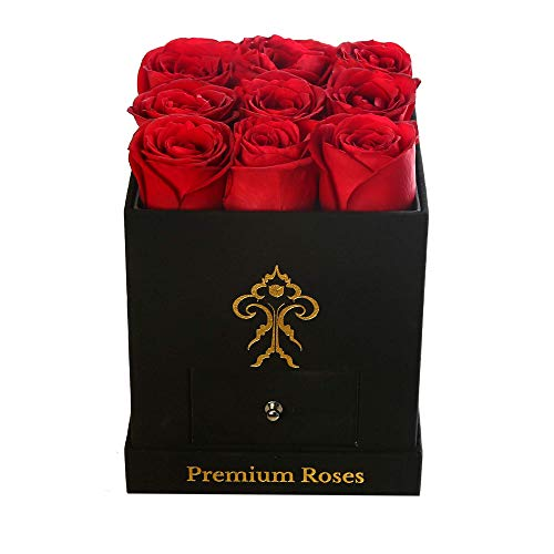 Premium Real Luxury Rose Box