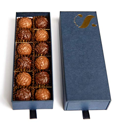 12PC Switzerland Chocolate Truffle Chocolate Box