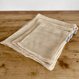 Set of 6 Organic Cotton Produce Bags