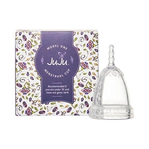 JuJu Menstrual Cup - Clear Model 1