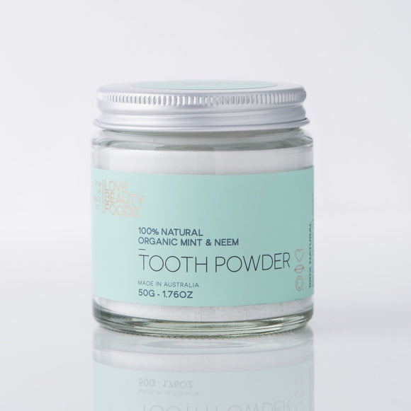 Organic Mint & Neem Natural Toothpowder
