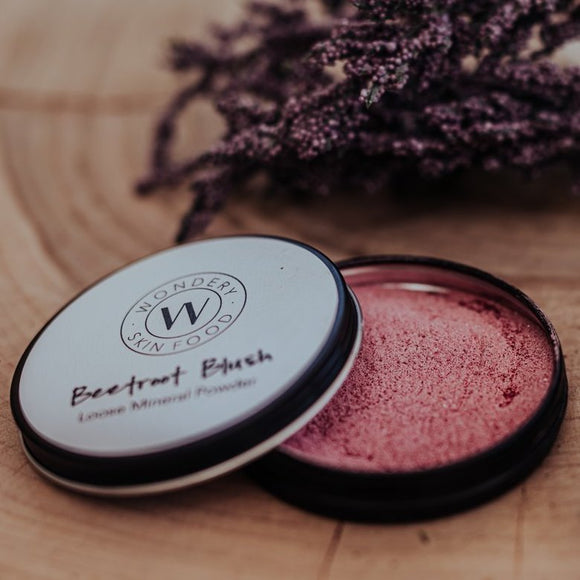 Beetroot Blush - All Natural Loose Mineral Powder 20g