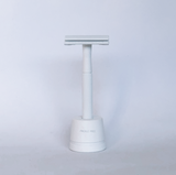 White Safety Razor Stand *Stand Only*