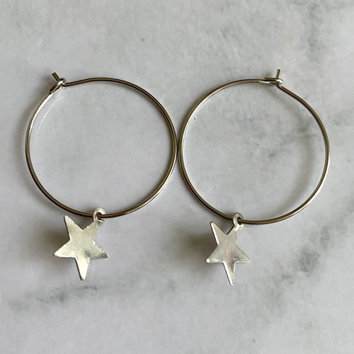 Star Crossed Lover Earring
