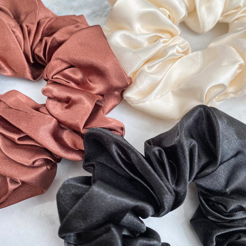 The Satin Scrunchy